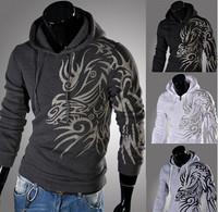 free shipping 2014 new men's models spring men's Korean version hooded hitting scene sweater hoodie.size M-XXL!