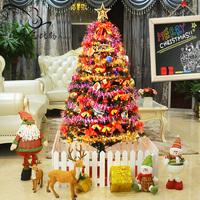 Bobby 1.5 meters christmas tree bundle Christmas decoration luxury encryption Christmas 150cm set 1.8