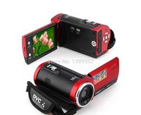 """16MP Waterproof Digital Camera 16X Digital Zoom Shockproof 2.7"""" SD Camera Red"""