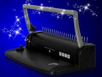A4 Size Book Binding Machine 8pcs/ time Black Paper Hole Puncher Binding Combs Punching Machine Comb Binding Machine