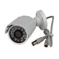 CCTV Home Surveillance Outdoor IR Bullet Security Camera Color CCD Day Night 24 Infrared LEDs Wide Angel Viewing