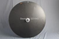 Newest Disc Time Trial/Triathlon wheel Full Carbon Fiber Tubular Wheel Monocoque 3K Matte OFFER CUSTOM PAINTING