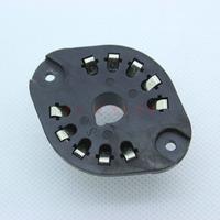2PCS Generic Plastic 10PIN Tube Sockets FR EL156,EZ150,AZ11,AZ12,EF12,EF14,EL12