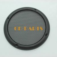 2PC Black 3.5 INCH Heavy Duty Steel Car Audio Subwoofer Speaker Cover Grill Mesh