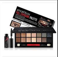 14 color nake smash box full exposure palette make up eyeshadow kit set ,pro makeup shadows pinceis with brush free dropshipping