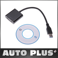 Top sale USB 3.0 to VGA Multi display Adapter Converter External USB 3.0 to VGA Converter for laptop DVD player tablets