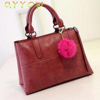2014 New Fashion Famous handbags women bag PU LEATHER BAGS/shoulder bags
