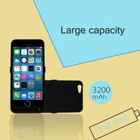 Slim 3200mAh External Battery Backup Charging Case Power Bank for iPhone 6 4.7 inch Black White
