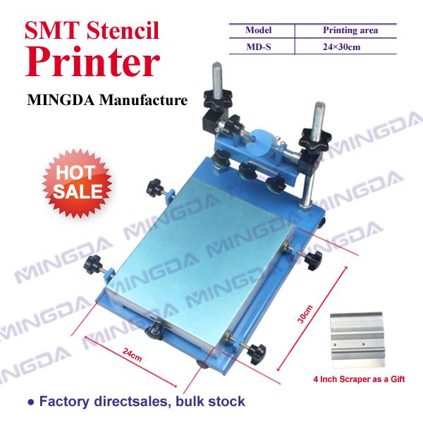 China Manufacturer ! 240*300mm SMT Screen Printing Machine / Silk Screen Printer / PCB Stencil Printer For Sale(China (Mainland))