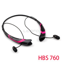 HBS 760 Wireless Bluetooth Neckband Headset Headphones Noise Isolating In Ear Earphones For iphone Samsung  Multi Point Connect