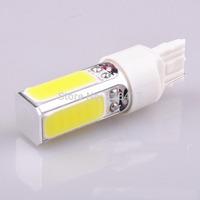 2PCS  Freeshipping High Power LED T20 COB W21W 7443 Projector Turn Tail Signal DRL Light Bulbs Parking backup Bulb Xenon White