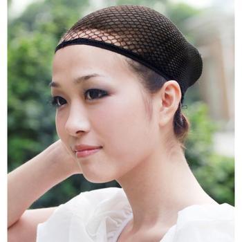 Бесплатная доставка 1 шт. растягиваемые сетки парик кепка резинка волосы сетку для ...
