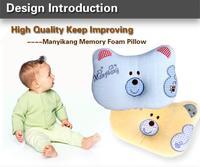 Children Sleep Pillow Babys Pillow Protect Head Neck Cartoon Style Memory Foam Baby Pillow Style Free Shipping SZ14
