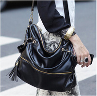 free shipping fashion chain style PU shoulder bags 8colors chioce messenger bag