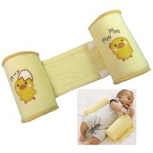 Free shipping 1pcs ComfortableCotton Anti Roll Pillow Cute Baby Toddler Safe Cartoon Sleep Head Positioner Anti-rollover(China (Mainland))