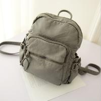 New 2014 Fashion Japan and Korean Style women's backpacks Vintage bag PU leather Backpack travel bags mochila school bag