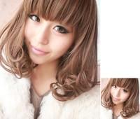 Fashion Medium-length Curly Wig Free Shipping