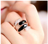 2014 Free Shipping Beauty  Fashion   Europe And The United States Exaggerated Personality Decration Ring Female  Index  Finger