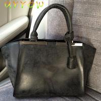 2014 Fashion Women Handbag Burnished Leather Shoulder Bags Women Messenger Bags
