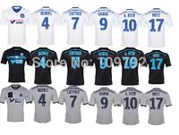 2015 Marseille soccer jersey thai quality 14 15 Marseille home white away 2nd black gray shirts GIGNAC CHEYROU MENDES custom