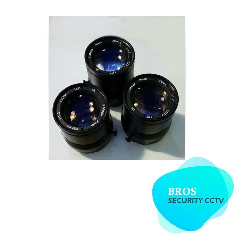 "IP camera lens 1/2"" high-definition (hd 3 million pixels CS 25 mm lens CCTV lens camera lens(China (Mainland))"