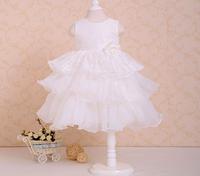 Retail 2015 new christmas dress girls dresses children's lace wedding dress fashion girl
