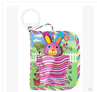 New Arrival Educational Bella the Bunny Hide and Seek Baby Cloth Book