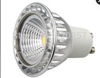 4.5W COB led spotlight GU10 AC220-240V 320lm 5PCS a LOT