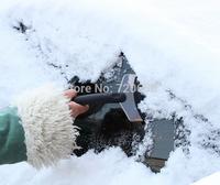 2014 New Mini Auto Car Vehicle Snow Ice Shovel Scraper Removal Clean Tool Black For Winter SD-3103