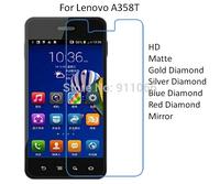 For Lenovo A358T HD/Matte/Diamond Screen Protector Film Free Shipping