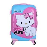 2014 New Promotion Women Zipper Sport Bag for Women Women Travel Bags Rod for Love Exclusive Shop Box Lovely Universal Wheel