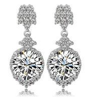 drop earrings for women silver earrings long earrings for women statement earrings high fashion designer brands 2014 new women