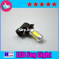 Freesshipping china post LED 9145 9140 9005 H10 LED fog lamp auto driving lamp COB AUTO  BULB 7.5W white/yellow