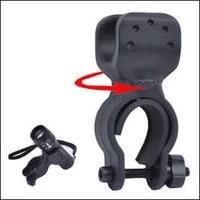 High Quality 360 Swivel Bicycle Bike LED Flashlight Mount Bracket Holder Torch Clip Clamp Universal Free shipping