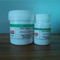 two components high silver content electrical conductive epoxy adhesive with excellent adhesion
