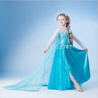 Christmas Costumes Cosplay Frozen Halloween Costomes for Kid Fantasia Anime Infantil Femininas disfraces infantis Vestidos Dress