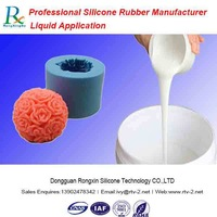 Low viscosity molding silicone rubber with high tear strength