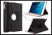 5pcs/lot For iPad 5 iPad Air Case Hard Stand 360 degree Rotation Smart Magnetic Case For iPad5 iPad Air 10 Colors free shipping