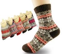 High-grade thick warm wool fashion socks,Classic maple leaf women/ladies winter socks,fashion women's socks free shipping
