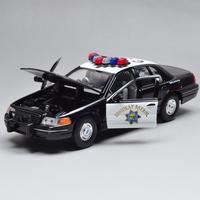 Ford squadrol alloy car model police car model wyly classic