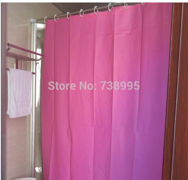 : Koop douchegordijn badkamer gordijnen peva 180*200cm haak badkamer ...