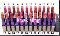 Selling! new Makeup Lipstick 24 colors (12 PCS/lot)