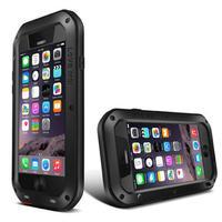 "Original Love Mei Aluminum Powerful Case For iPhone 6 4.7"" Extreme Dirtproof Waterproof Shockproof Gorilla Glass i6 4.7"""