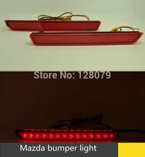 Backup Tail Rear Bumper Lamp LED Reflector stop Brake light fog lamp for Mazda 2 3 6(China (Mainland))