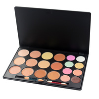 Promotion  Pro 20 Color Makeup Concealer Sunscreen Face Cream Cosmetics Palette with 2 free applicator  Free Shipping