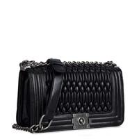 30PCS FREE SHIPPING Classic embroidered fold women shoulder bag handbag cross-body bags #MHB025