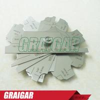 J34 7 Piece Fillet Weld Set Gage Gauge Welding Inspection Test Ulnar MM & inch MG-11