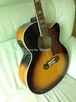 free shipping jumbo guitar electric Acoustic Guitar , Dreadnought guitar VS with fishman eq