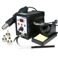 8786D SMD Rework Station soldering rework station Hot Air Gun + Solder Iron 700W 110V