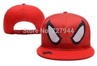 Free shipping   2014 New design fashion metal DC Comics Superman Snapback caps for women men brand hip hop baseball cap